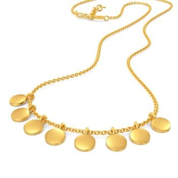 Sparkle Startle Gold Necklaces
