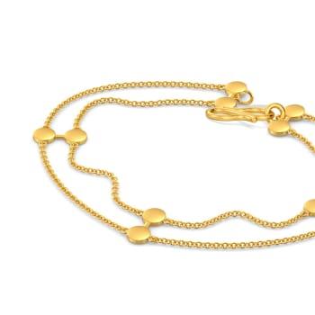 Shimmer N Glimmer Gold Bracelets