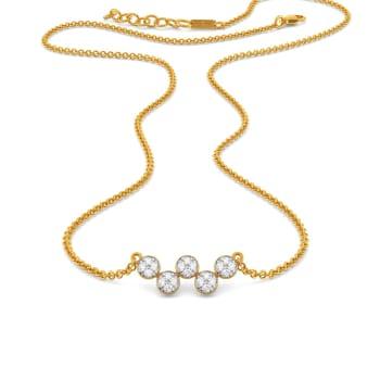 Boogie Wonderland Diamond Necklaces
