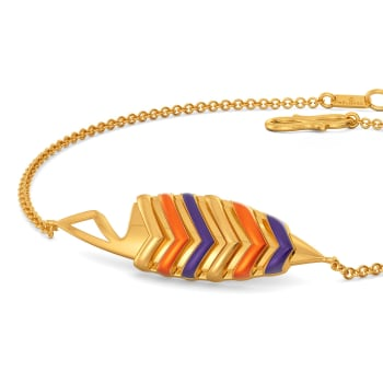 Feather Weather Gold Bracelets
