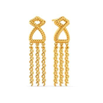 Fringe Refresh Gold Earrings