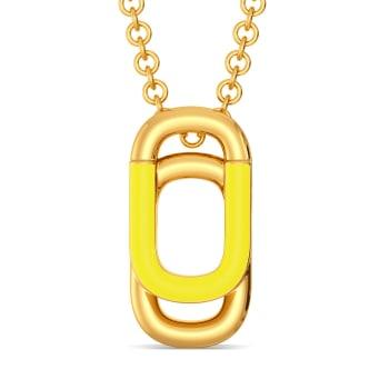 Upon Neon Gold Pendants