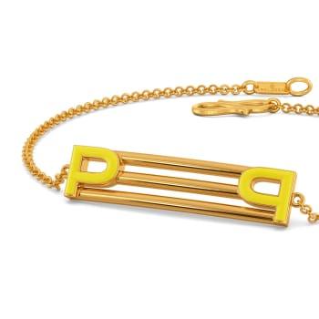 Peek A Sneak Gold Bracelets