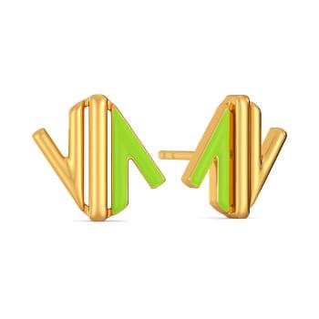 Native Neon Gold Earrings