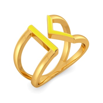 Knot A Lot Gold Rings