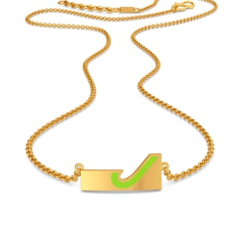 Just in Jade Gold Necklaces