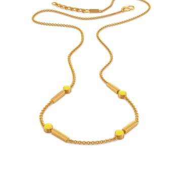 Ideally Lit Gold Necklaces