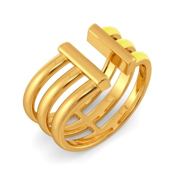 Early Edits Gold Rings