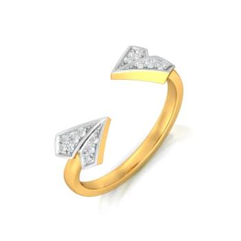 Dazzling Dahlia Diamond Rings