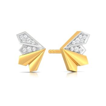 Dazzling Dahlia Diamond Earrings