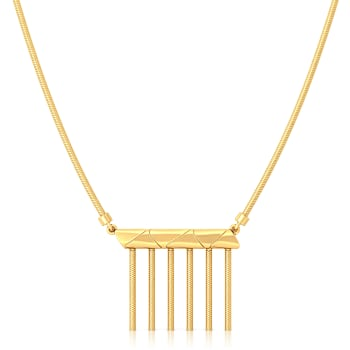 The Fringe Play Gold Necklaces