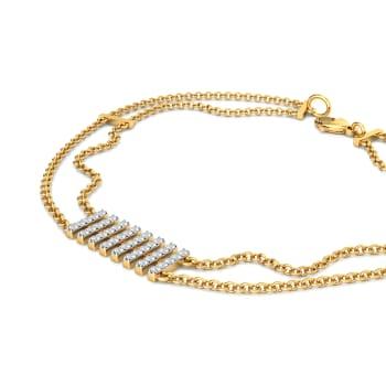 See - Saw Diamond Bracelets