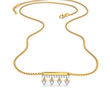 Dart N Art Diamond Necklaces