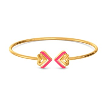 Amour Neon Gold Bangles