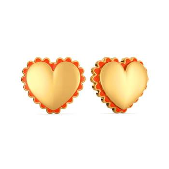 Colour Crush Gold Earrings