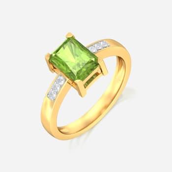 Olive Diamond Rings