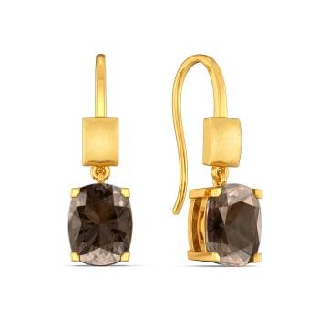 Earthy Echoes Gemstone Earrings