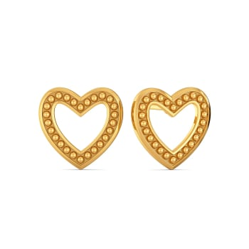 Club Love Gold Earrings