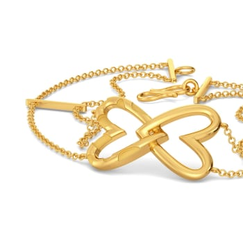 Love at First Sight Gold Bracelets