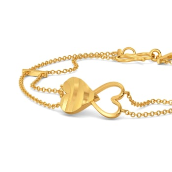 Wild Instinct Gold Bracelets