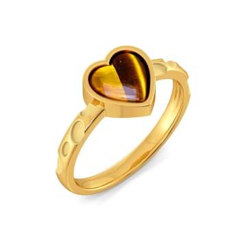 Leopard Love Gemstone Rings