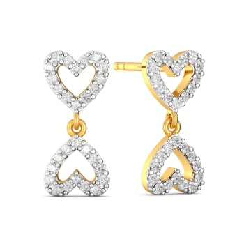 The Bow Story Diamond Earrings