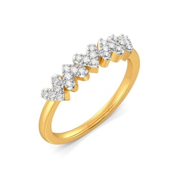 The Bow Story Diamond Rings