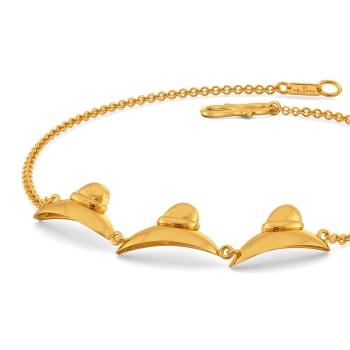 Fedora Finds Gold Bracelets