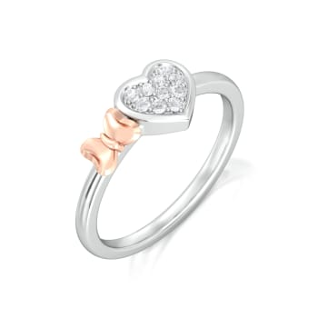 Plush-Blush Diamond Rings