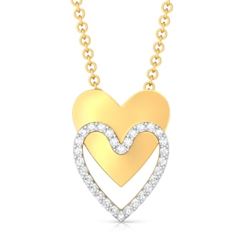 Twice as Nice Diamond Pendants