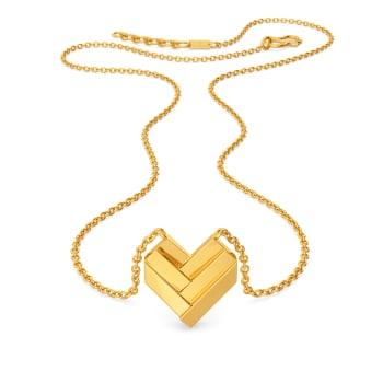Saint Valentine Gold Necklaces
