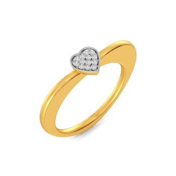 Heart 2 Heart Diamond Rings