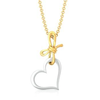 My Valentine Gold Pendants