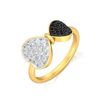 Head Over Heels Diamond Rings