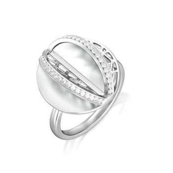 Lacy Effect Diamond Rings