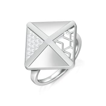 Lattice Lace  Diamond Rings
