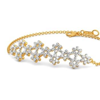 Lace Line Up Diamond Bracelets