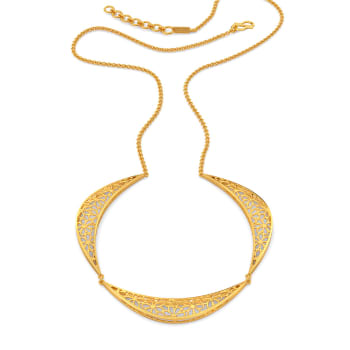 Loop A Lace Gold Necklaces