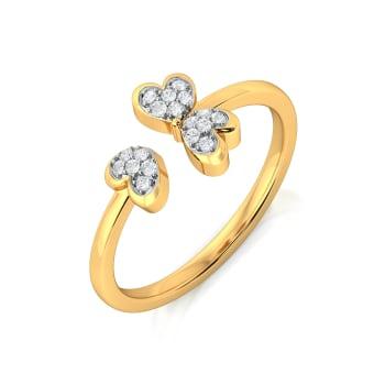 Bloom Zoom Diamond Rings