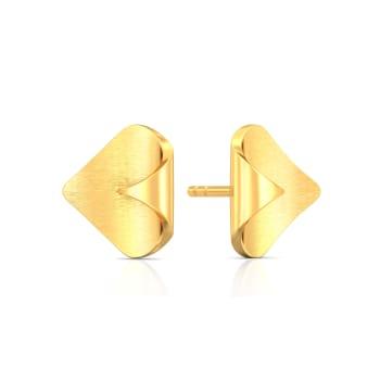 Mint Play Gold Earrings