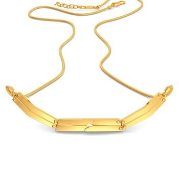 Double Rubble Gold Necklaces