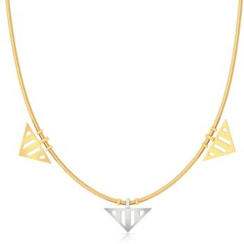 Double Dash Gold Necklaces
