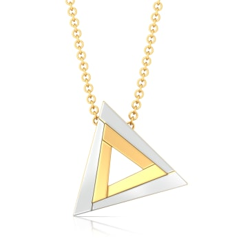 Fierce Figments Gold Pendants