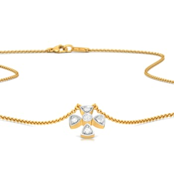 Plush Plus Diamond Necklaces