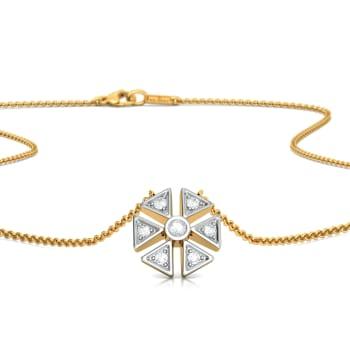 Flaunt Floret  Diamond Necklaces