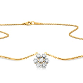 Dots and Diamonds Diamond Necklaces