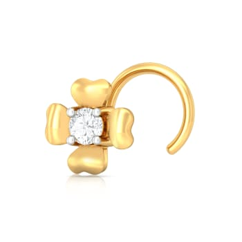 La Fleur Diamond Nose Pins