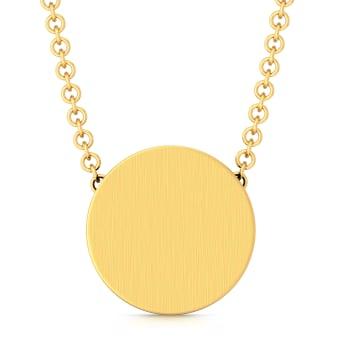 Evergreen sheen Gold Pendants