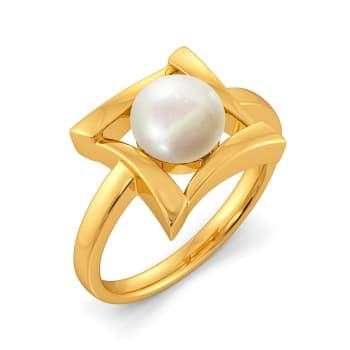 Hug A Pearl Gemstone Rings