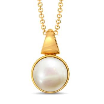 Playful Pearls Gemstone Pendants